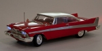 1958 Plymouth Belvedere a.k.a. Christine Semi Front via Scale Model World www.scalemodelworld.wordpress.com
