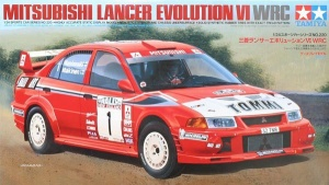 Mitsubishi Lancer Evo VI - Part 1 via scalemodelworld www.scalemodelworld.wordpress.com